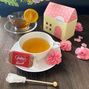 紅茶 ギフト かわいい ロンネフェルト プチギフト ティーバッグ 女子 紅茶 お菓子 土産 お返し おしゃれ 御礼 誕生日 同僚 ロータス ティーハウス
