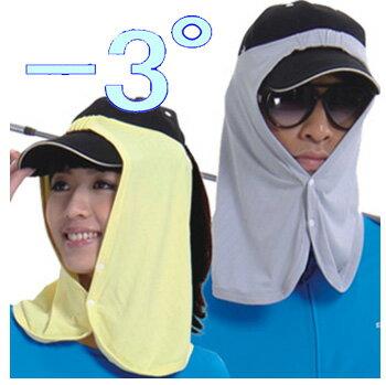 【男女兼用 フリーサイズ 全8カラー】【体感温度 -3°】【UPF 50+】【MEGA Golf 夏の雪 Sun Guard Neck Cover】 メガゴルフ 夏の雪 サンガード ネックカバー 【UV-505 Series】【メガアイスクールウェアシリーズ】【メール便無料】