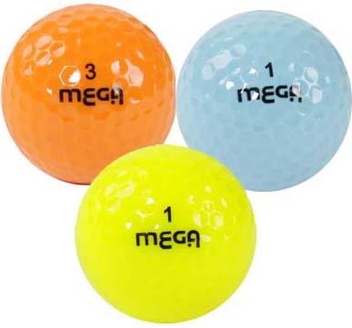 【MEGA MAX Color Ball】 嬉しいバルクばら売り メガ マックス カラーボール カラー効果でスコアアップ 02P05Nov16