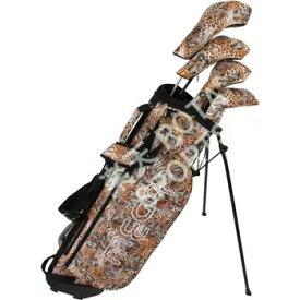 【MEGA Golf Safari Series Set】 メガゴルフ サファリシリーズセット (スタンドキャディバッグ+ヘッドカバー+パターカバー)