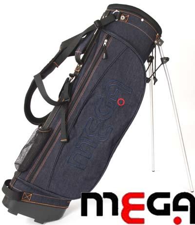 【MEGA・JP】 軽量デニムスタンドキャディバッグ 個性を楽しもう 【MGCB-7021】【8インチ】 02P05Nov16