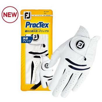 【Titleist FOOTJOY Prac Tex Golf Glove】 タイトリスト フットジョイ プラクテックス ゴルフグローブ 【日本正規品】【FGPT17】【メール便対応】【17年モデル】