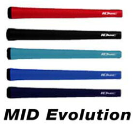 【IOMIC MID Evolution Series】 イオミック ミッド エボリューション シリーズ ゴルフ グリップ 【ウッド・アイアン用】