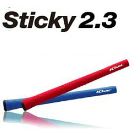 【IOMIC Sticky 2.3 Series】 イオミック スティッキー 2.3 シリーズ ゴルフ グリップ 【ウッド・アイアン用】