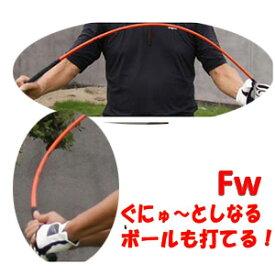 【待望のフェアウェイウッドバージョン】ムチのようにしなる柔らかいシャフトでプロスイングを身につける ボールも打てる練習機 広田ゴルフ ロジャーキング スイングドクター