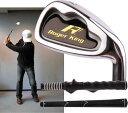 【広田ゴルフ】 Roger King Heavy Training Short Iron 57cm・1.15kg / 800g 【室内でも振れます】【グリップも...