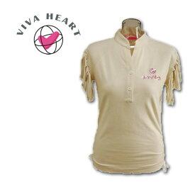 【あす楽】ビバハート ゴルフウェア VIVA HEART 半袖シャツ【M】 012-22547-06
