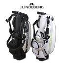 J.リンドバーグ キャディバッグ スタンド メンズ 黒 白 9インチ 073-15901【 あす楽 送料無料 】 [ ゴルフウェア golf…