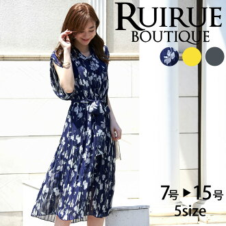 It is dress mi-mollet length resort pleats 02P18Jun16 in mom coordinates spring flower handle ribbon chiffon summer for 50 generations for 40 generations for 30 generations for short sleeves 20 generations in the size summer when the size that 2019 lates