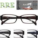 メガネ 度付き テンプル太めデザイン 軽量 Air Glass TG0003-54 レンズ付き眼鏡セット TR90 グリルアミド メガネ通販