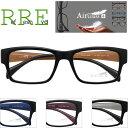 メガネ 度付き ゴツめデザイン 軽量 Air Glass TG0011-52 レンズ付き眼鏡セット TR90 グリルアミド メガネ通販