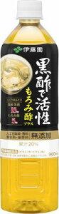 **伊藤園 黒酢で活性もろみ酢プラス 900ml x12本/栄養機能食品