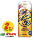 (期間限定セール)ビール類・新ジャンル キリン のどごし生 500ml×48本 (2ケース)地域限定送料無料