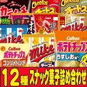歳末特売【送料無料!】スナック菓子 12種類 詰め合わせ箱 お花見 パーティー・景品・サークル・飲み会・子ども会…
