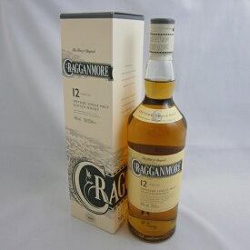 クラガンモア12年 正規 40% 700ml シングルモルトスコッチウイスキー