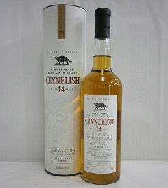 クライヌリッシュ14年 並行 46% 700ml シングルモルトスコッチウイスキー