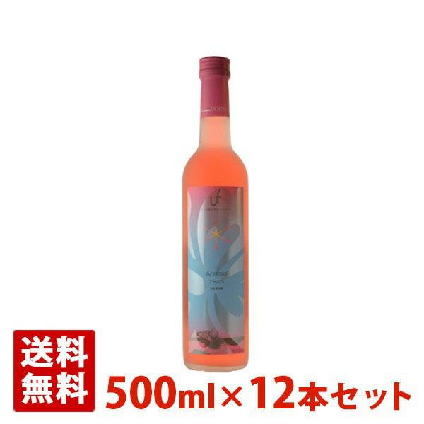 アセロラワイン 8度 500ml 12本セット フルーツワイン うちなーファーム