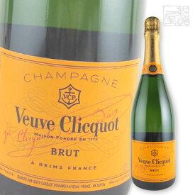 ヴーヴ クリコ イエローラベル ブリュット 750ml 白泡ワイン 辛口 フランス