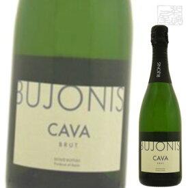 スマロッカ カバ ブジョニス ブリュット 白 スパークリングワイン 12度 750ml