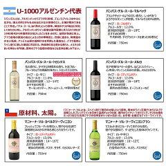 南米ワインデイリーワイン飲み比べ5本セット赤ワイン白ワイン