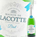 DGBラコッテスパークリングブリュット750mlスパークリングワイン泡シャンパン南アフリカ