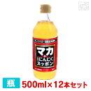 サンビネガーマカ・にんにくスッポン酢500ml12本セットケース