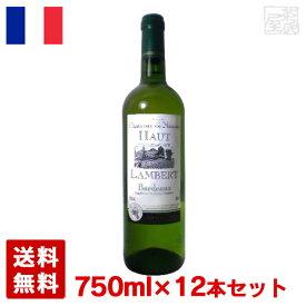 シャトー・デ・ノージャン オー・ランバール ブラン750ml 12本セット 白ワイン 辛口 フランス