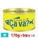 岩手缶詰サヴァ缶オリーブオイル漬け170g6個セット缶詰