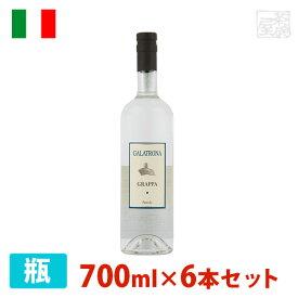 ペトローロ ガラトローナ グラッパ 42% 700ml 6本セット グラッパ 辛口 イタリア