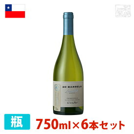 コノスル シャルドネ 20バレル リミテッド・エディション 750ml 6本セット 白ワイン 辛口 チリ