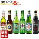 海外ビール飲み比べ6本セットD 瓶 ヨーロッパ6ヵ国巡りセット 輸入ビール 送料無料