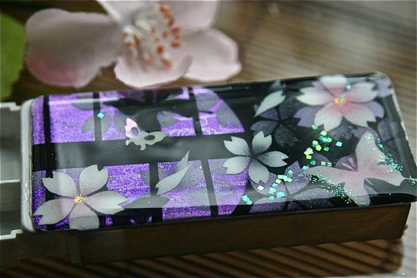 【桜色】FRISKケース「田」匠の技!桜色限定の和柄フリスクケース!職人の手作り!オリジナル和雑貨!2商品購入で送料無料!