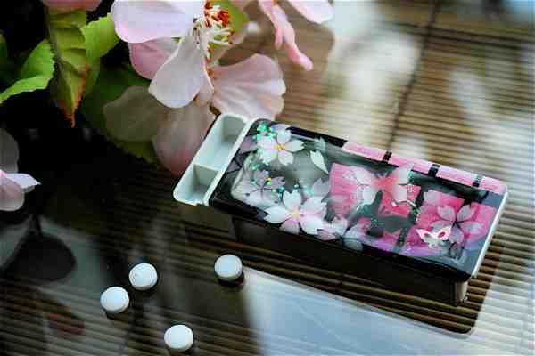 【桜色】FRISKケース「地」匠の技!桜色限定の和柄フリスクケース!職人の手作り!オリジナル和雑貨!2商品購入で送料無料!