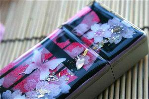 【桜色】携帯灰皿「蹴」 匠の技!桜色限定シガレットケース!職人の手作り!和柄オリジナル商品です!