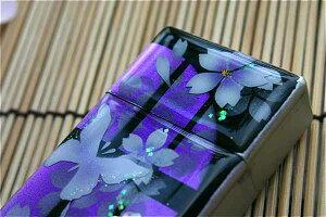 【桜色】携帯灰皿「子」 匠の技!桜色限定シガレットケース!職人の手作り!和柄オリジナル商品です!
