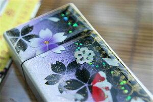 【桜色】携帯灰皿「手」匠の技!桜色限定シガレットケース!職人の手作り!和柄オリジナル商品です!