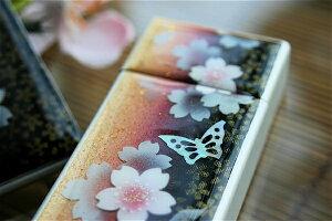 【桜色】携帯灰皿「津」匠の技!桜色限定シガレットケース!職人の手作り!和柄オリジナル商品です!