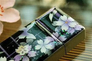 【桜色】携帯灰皿「地」匠の技!桜色限定シガレットケース!職人の手作り!和柄オリジナル商品です!