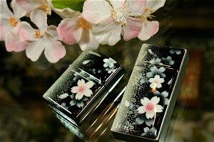 【桜色】携帯灰皿「緒」 匠の技!桜色限定シガレットケース!職人の手作り!和柄オリジナル商品です!