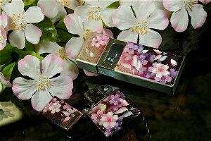 【桜色】携帯灰皿「区」 匠の技!桜色限定シガレットケース!職人の手作り!和柄オリジナル商品です!
