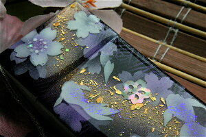 【桜色】携帯灰皿「酢」匠の技!桜色限定シガレットケース!職人の手作り!和柄オリジナル商品です!