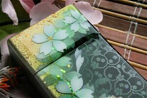 【桜色】携帯灰皿「詩」匠の技!桜色限定シガレットケース!職人の手作り!和柄オリジナル商品です!