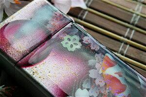 【桜色】携帯灰皿「差」 匠の技!桜色限定シガレットケース!職人の手作り!和柄オリジナル商品です!