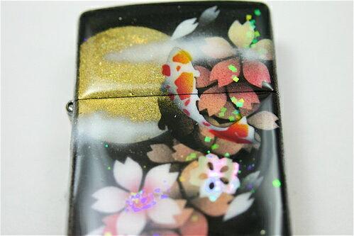 【名入れ】和柄zippo「派」匠の技!桜色限定ジッポ!職人の手作り!オリジナル和風ライター!ギフト&プレゼント&自分のご褒美!