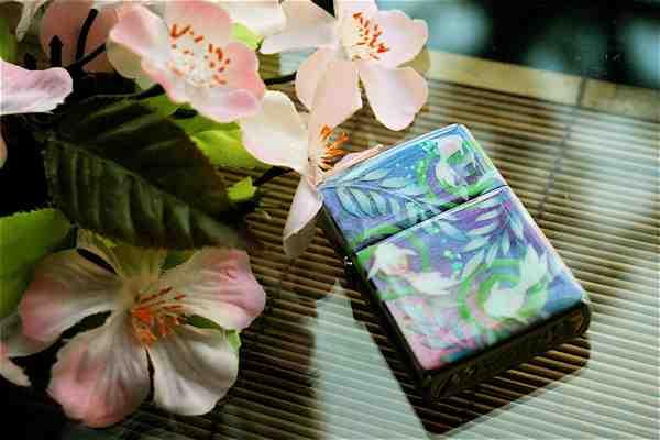 【名入れ】和柄zippo「素」匠の技!桜色限定ジッポ!職人の手作り!オリジナル和風ライター!ギフト&プレゼント&自分のご褒美!