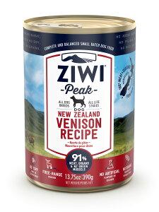 【スーパーセール期間中エントリーでP14倍】ZIWI Peak(ジウィピーク) ドッグ缶ベニソン390g(ドッグフード)【正規品】