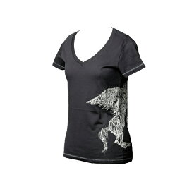 DIESEL(ディーゼル) ペガサス Ladie'sTシャツ ネイビー【今だけ送料¥540!!】