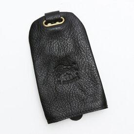 イルビゾンテ IL BISONTE C0330 キーケース メンズ リング付き レザー キーリング 本革 レディース 153 ブラック ブランド 新品 未使用