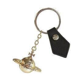ヴィヴィアンウエストウッド Vivienne Westwood 321567 ROUND ORB GOLD GADGET ラウンドオーブ ゴールド ガジェット キーリング キーホルダー BLACK
