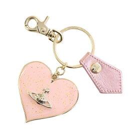 ヴィヴィアンウエストウッド Vivienne Westwood 82030008 MIRROR HEART GADGET ミラーハート ガジェット キーリング キーホルダー PINK ピンク